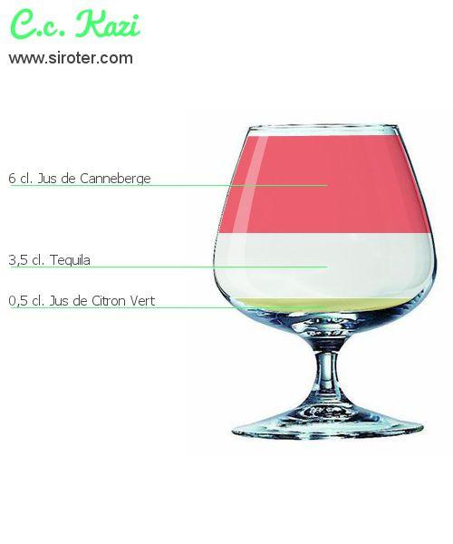 Recette Cocktail C.C. KAZI