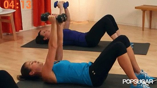 6 Minutes and 6 Moves Is All You Need For Gorgeous, Toned Arms: Whether you're waiting for the coffee to brew, catching a few TV commercials, or have a couple minutes before bed, you can squeeze in this six-minute workout!