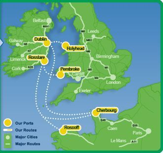 Special Offers From Britain To Ireland With Irish Ferries | Irish Ferries - roughly $50 walk on One-way Holyhead Wales to Dublin