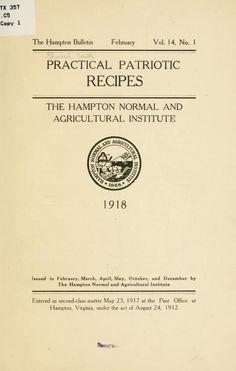 Practical patriotic recipes