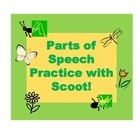 """Let's play """"scoot!""""  This game is fun to play and gets your students up and moving!  $    Learn some fun facts about spring while practicing the parts..."""
