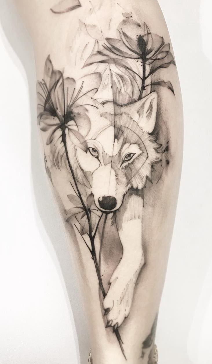 The 230 Best Wolf Tattoos on the Internet [Femininas e Masculinas] | TopTattoos