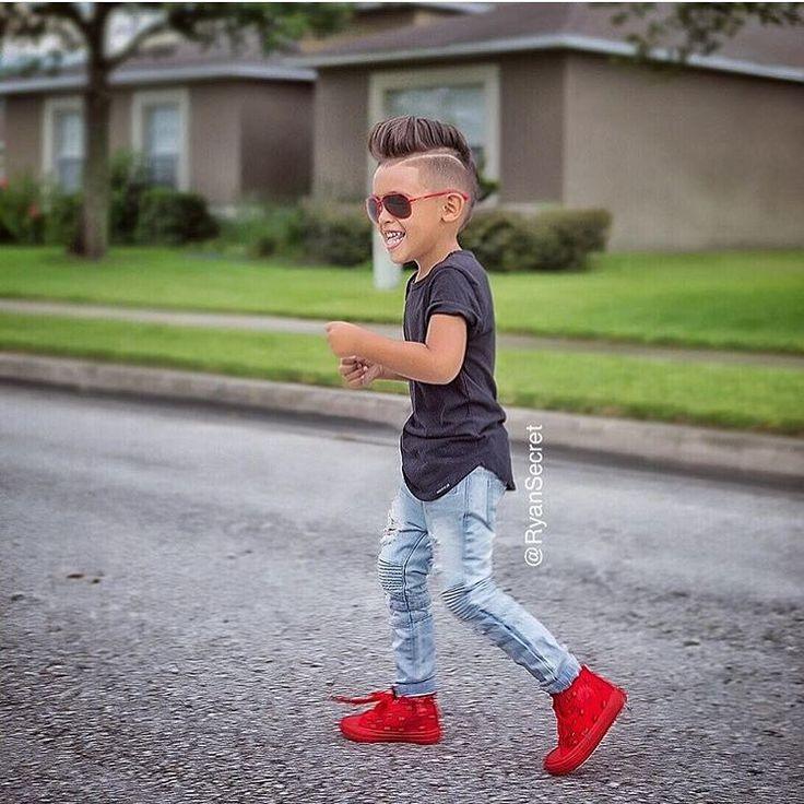 """This little boy #FCkids @ryansecret"""