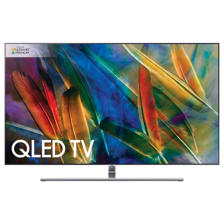 Samsung QE55Q8F QLED HDR 1500 4K Ultra HD Smart TV, 55 with TVPlus/Freesat HD & 360 Design, Ultra HD Premium Certified, Silver on sale in the UK along with best deals on many other home entertainment systems and accessories