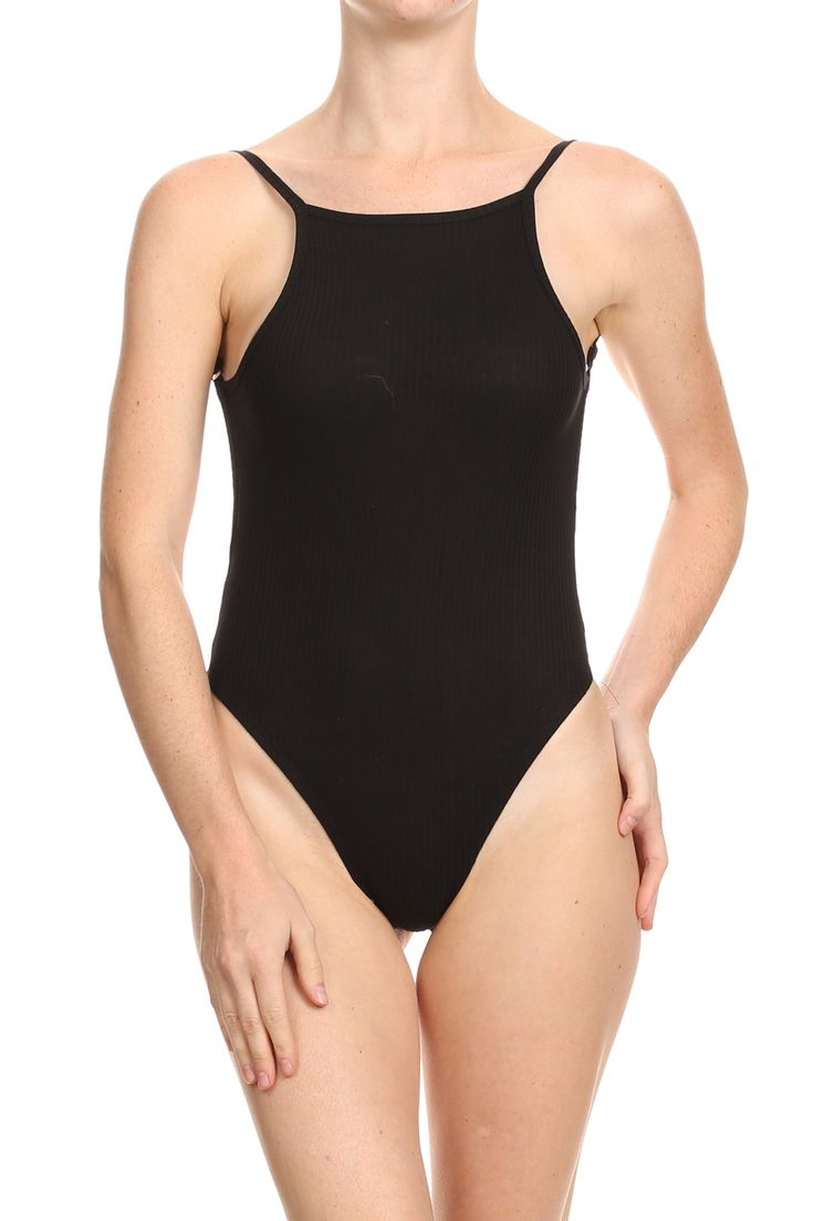 Ribbed For Your Pleasure Black Bodysuit from POPRAGEOUS