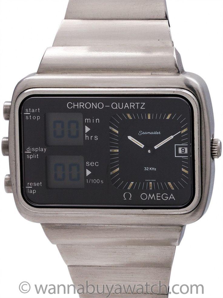 Wanna Buy A Watch?   Omega Seamaster Chrono-Quartz Montreal Olympics circa 1976Omega Seamaster Chrono-Quartz Montreal Olympics circa 1976 - Wanna Buy A Watch?