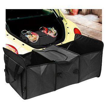Powerful Car Trunk Organizer - No More Mess After Driving!