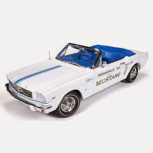 BLOG DOS BRINQUEDOS: Ford Mustang Conversível 1964 Indy Pace Car