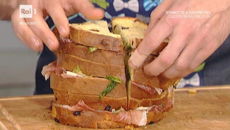 La prova del cuoco   Ricetta panettone e pandoro gastronomico   Reponi