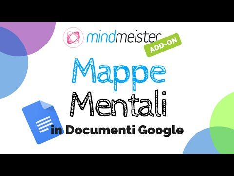 Mappe mentali in Documenti Google con MindMeister - YouTube