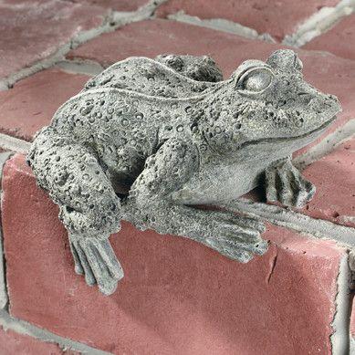 Frog Key Safe Statue