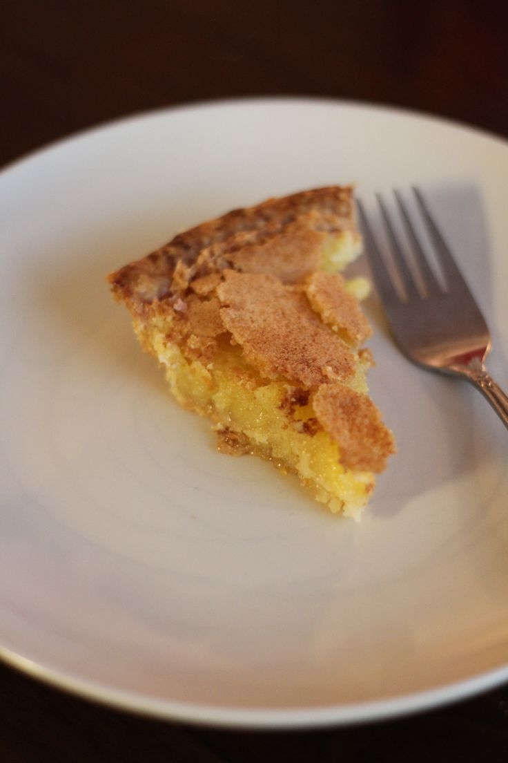 A #recipe for the power of a sweet, crunchy, creamy Chess Pie