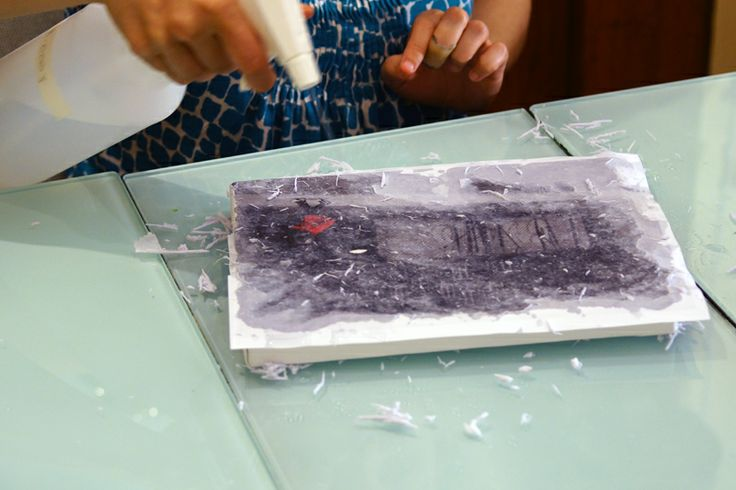 How to transfer a photo onto canvas