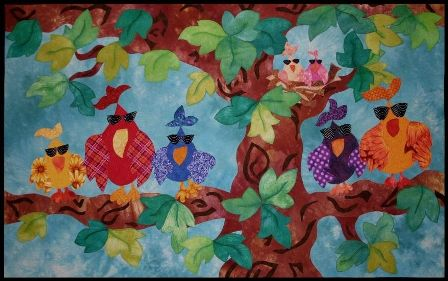 Mickey Depre is an Art Quilter who makes traditional quilts too!