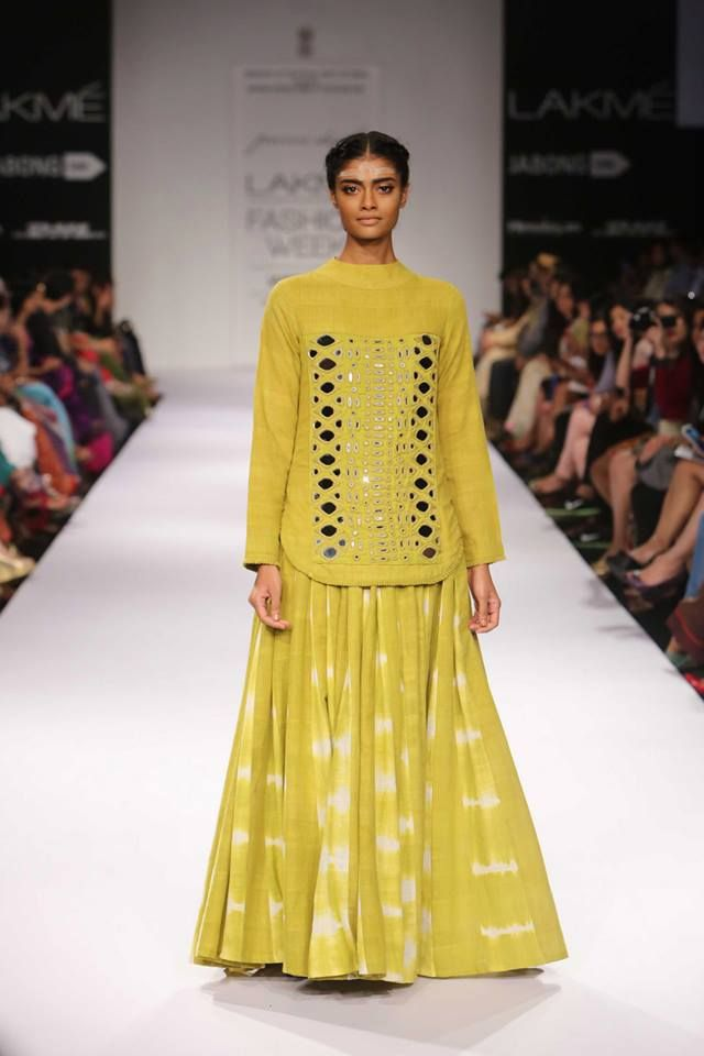 Purvi Doshi| Lakme Fashion Week 2014