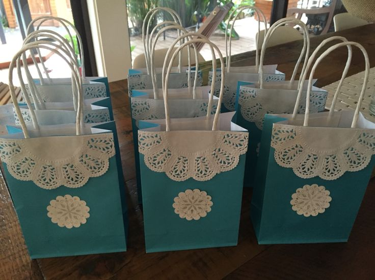 Elsa Lolly Bags Made by Mandy Clouten