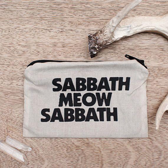 Sabbath Meow Sabbath Pouch