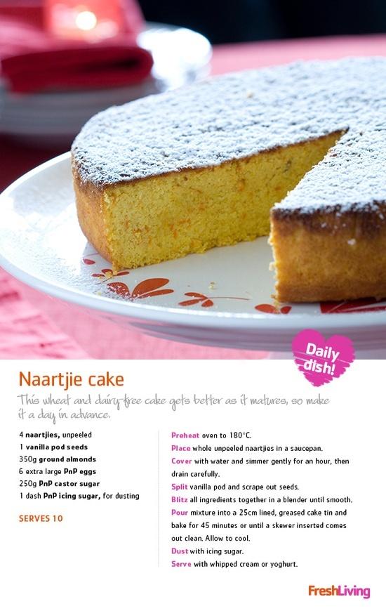 Naartjie Cake