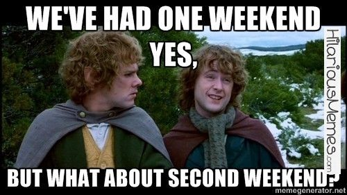 Funny Meme How I feel after getting two days off due to snow this week....