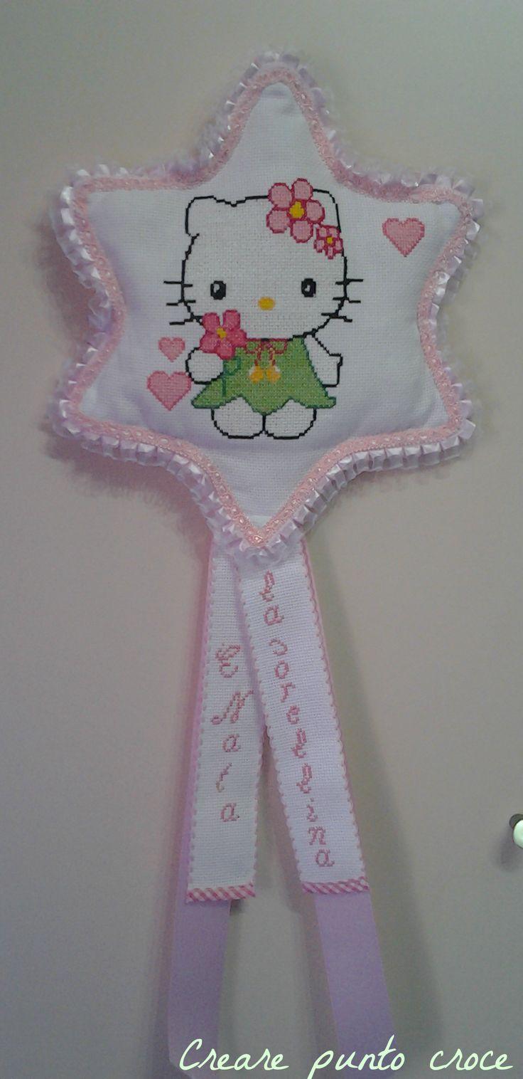 Coccarda stella Hello Kitty