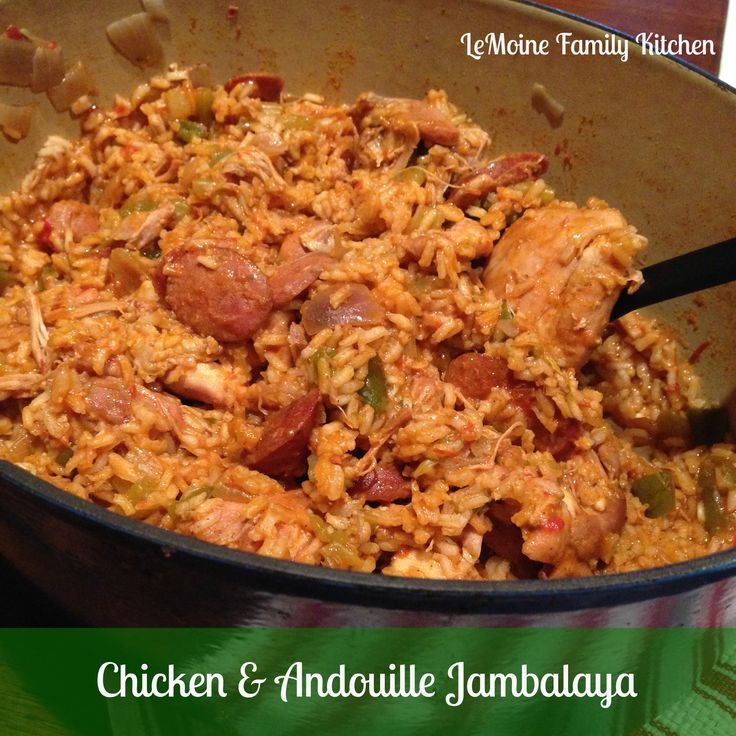 Foodista | Recipes, Cooking Tips, and Food News | Chicken & Andouille Jambalaya :: Mardi Gras