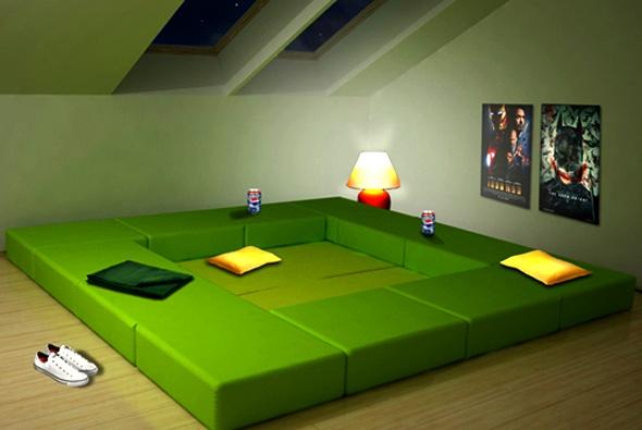Totally cool modular furniture from Italian designers