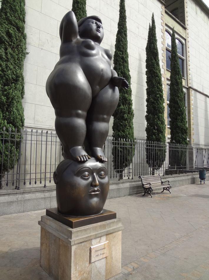 Parque de las esculturas de Botero - Medellin, Colombia