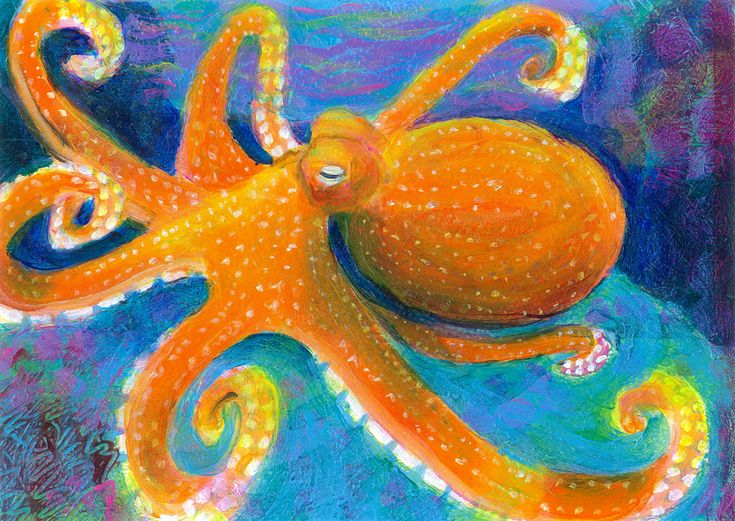 43 best images about Under The Sea Paintings on Pinterest