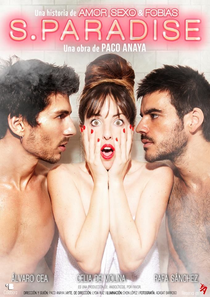 "Cartel de ""S. Paradise"" #SParadise #Teatro #TeatroGay #Teatro #Madrid"