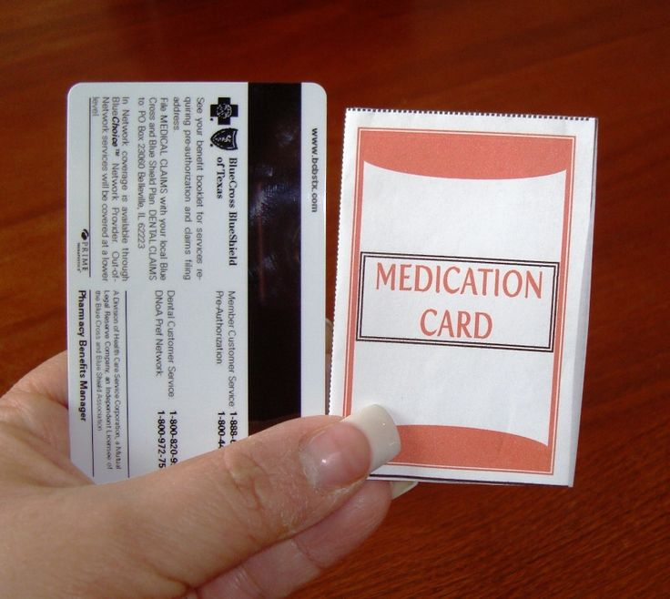 Free Wallet Medication Card Jaguar Clubs Of North America