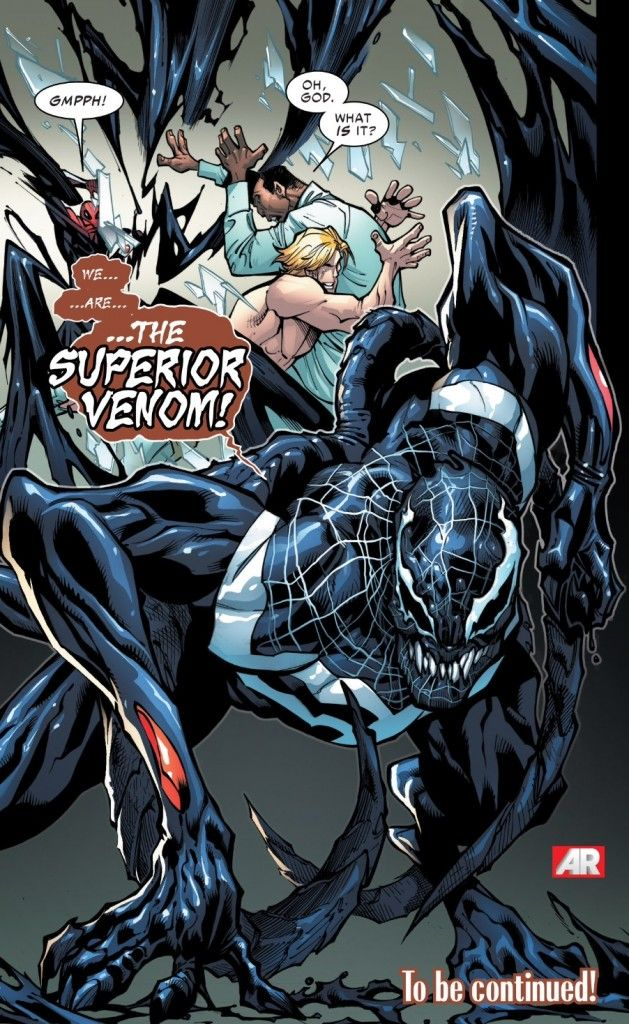 The birth of the Superior Venom (from Superior Spider-Man #23)