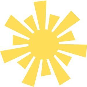 Silhouette Design Store - Search Designs : sun beams