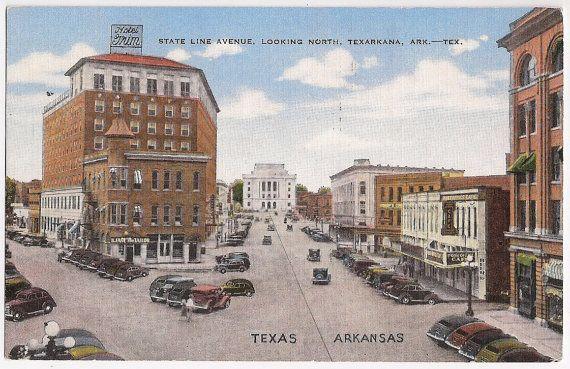 State Line Avenue Texarkana Arkansas Texas