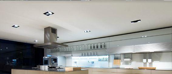 faretti incasso in cucina | cristalensi | pinterest | in and cucina - Faretti Da Cucina