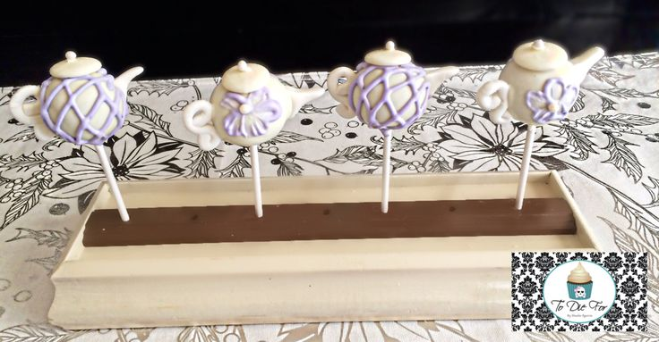 Loved making these tea pot cake pops!!!