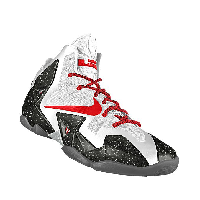new style 92cef e4d2f Custom LeBron 11 iD Basketball Shoe Size 8.5 men Start Customizing the Nike  ...