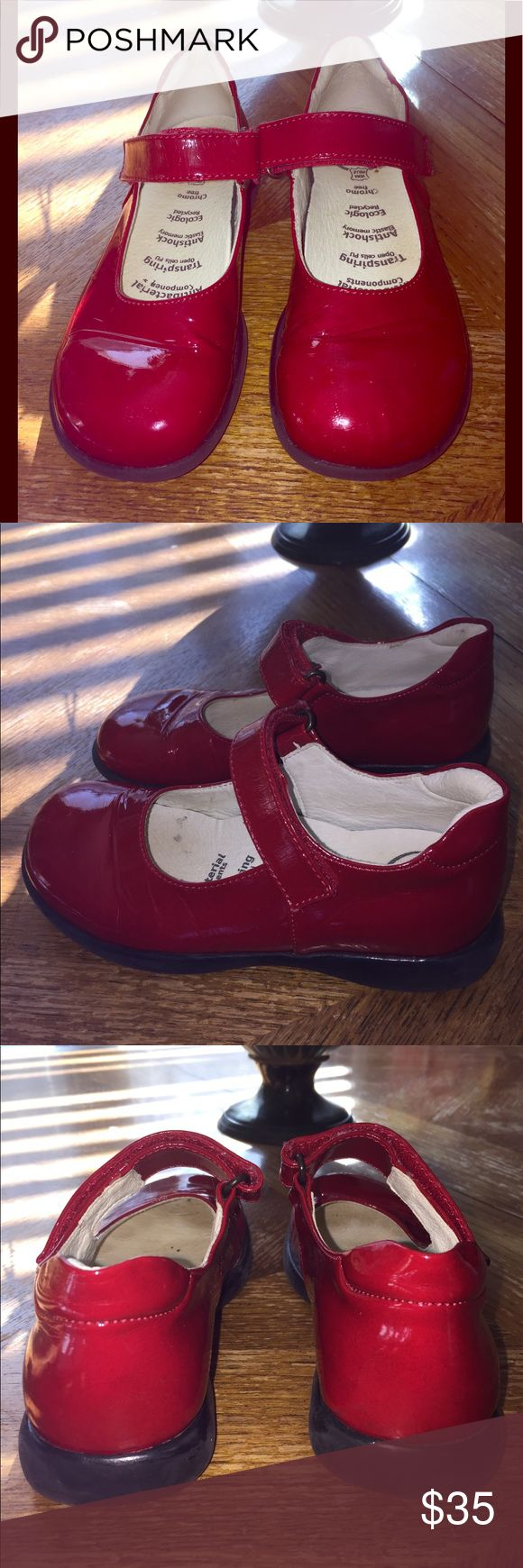 Like New Primigi Red Patent Leather Mary Janes Size 30.  Like New Primigi Red Patent Leather Mary Janes Primigi Shoes Dress Shoes