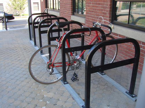 Physical Environment: Bicycle rack