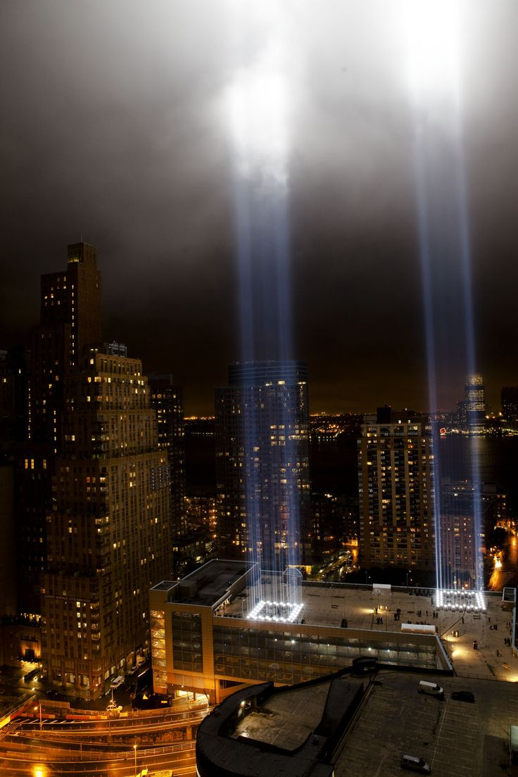 Best America The Beautiful Images On Pinterest Beautiful - Two beams light new yorks skyline beautiful tribute 911