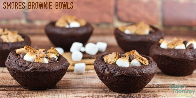 Smores Brownie Bowls - Gator Mommy Reviews