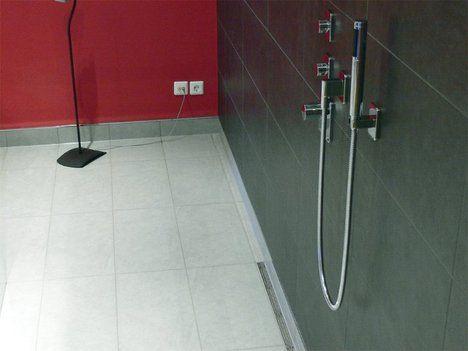 Inspirational Duschrinne in eine bodengleiche Dusche einbauen