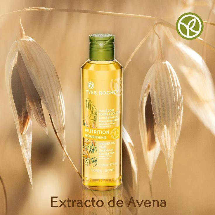 El extracto de Avena suaviza intensamente tu piel. Utiliza el Aceite de Ducha de la línea Soin Végétal Corps y consiente a tu piel todos los días.