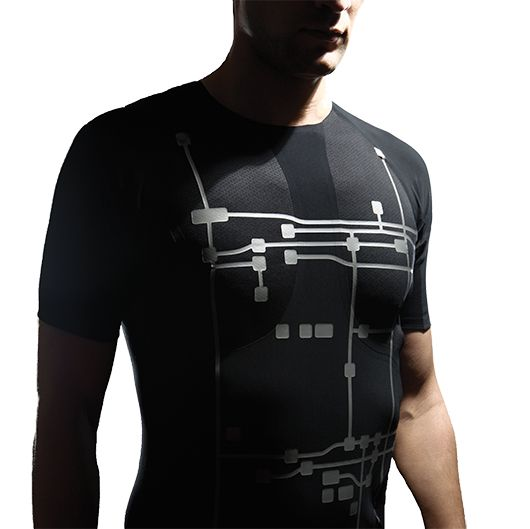 Vital jacket was developed by BioDevices, a Portuguese company that designs biomedical engineering solutions for medical diagnosis. The Vital jacket is a comfortable t-shirt that allows a wearer's heartbeat to be continuously monitored for up to five days, allowing physicians to assess cardiac health in everyday life.