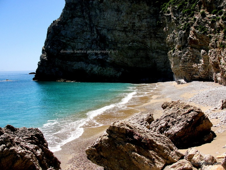 Kithira Island, Kabonada Beach, Greece