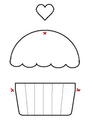 Cupcake Template Classroom Decoration Pinterest
