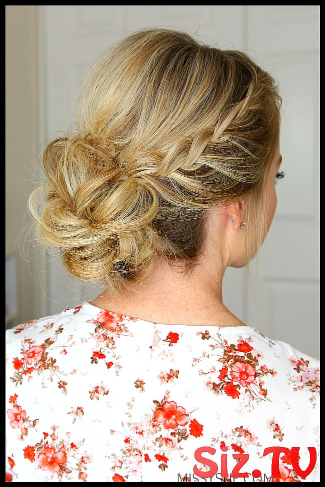 Double Lace Braids Updo Double Lace Braids Updo Going To Homecoming School Has Started And That Means Dances With Homecoming Right Around The Corner I...