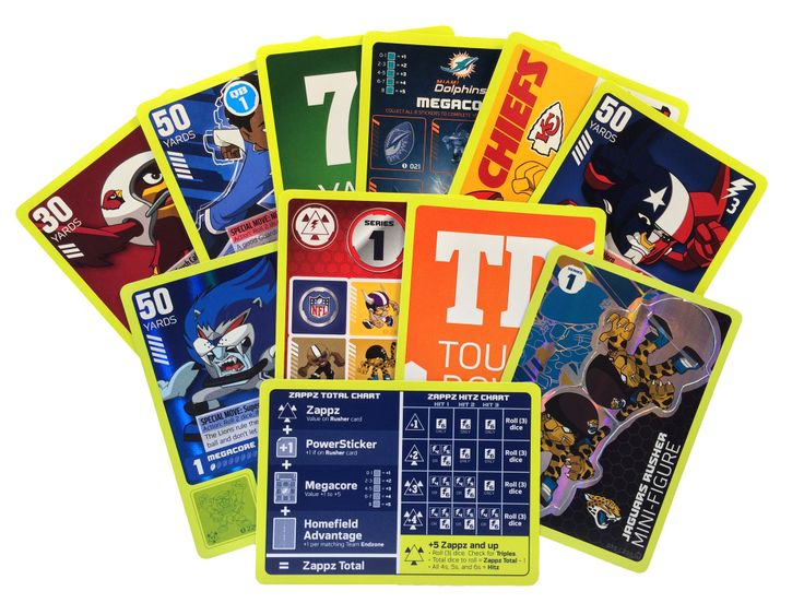 Best Nfl Rush Zone Tcg Trading Card Game Images On