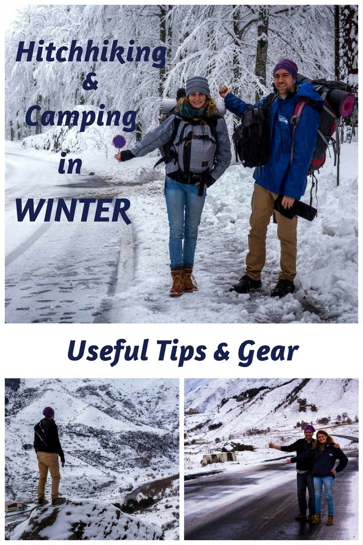 How to keep yourself warm and comfortable while hitchhiking and camping during the winter. In this article we share with you our first-hand tips and gear. Journal of Nomads