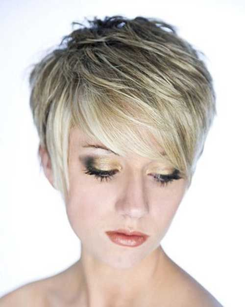 6.Long Pixie Hairstyle…