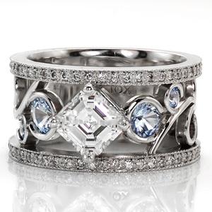 Love this ringVintage Engagement, Sapphire Engagement Rings, Wedding Ring, Antiques Diamonds, Wedding Bands, Diamonds Vintage, Knox Jewels, Unique Weddings, Alex O'Loughlin